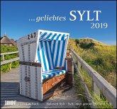 Geliebtes Sylt 2019 - DuMont Wandkalender - mit den wichtigsten Feiertagen
