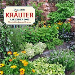 DuMonts Kräuter-Kalender 2019 - Broschürenkalender - Wandkalender - Bühring, Ursel