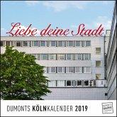 Köln Cologne 2019 - Wandkalender, Quadratformat