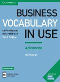 Business Vocabulary in Use: Advanced Third edition. Wortschatzbuch + Lösungen + eBook