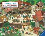 Ali Mitgutsch 2019 - Wimmelbilder - DUMONT Kinder-Kalender