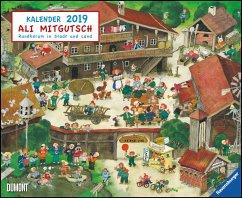 Ali Mitgutsch 2019 - Wimmelbilder - DUMONT Kinder-Kalender - Mitgutsch, Ali