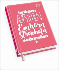 Taschenkalender 2019 - Mein Einhorn - FUNI SMART ART - FUNI SMART ART