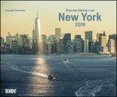 Über den Dächern von New York 2019 - Wandkalender