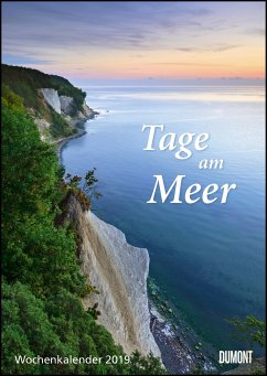 Tage am Meer Wochenkalender 2019 - Wandkalender
