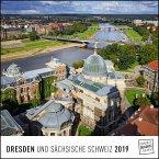 Dresden 2019 - Wandkalender - Quadratformat