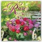 Roses - Rosen 2019 - 18-Monatskalender