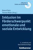 Inklusion im Förderschwerpunkt emotionale und soziale Entwicklung (eBook, PDF)