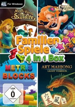 Familienspiele- 4in1 Box