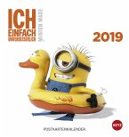 Minions Postkartenkalender - Kalender 2019