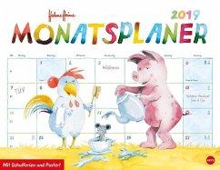 Helme Heine Monatsplaner - Kalender 2019 - Heine, Helme