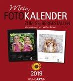 Fotokalender zum Selbergestalten 2019 24 x 21,5 cm