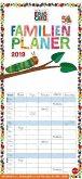 Die kleine Raupe Nimmersatt Familienplaner - Kalender 2019