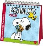 Peanuts Aufstell-Postkartenkalender - Kalender 2019