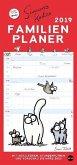 Simons Katze Familienplaner - Kalender 2019