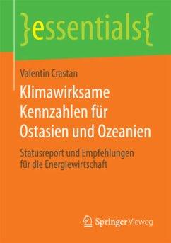 Klimawirksame Kennzahlen für Ostasien und Ozeanien - Crastan, Valentin