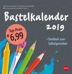 Bastelkalender 2019 groß anthrazit