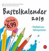 Bastelkalender 2019 groß weiß