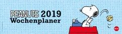 Peanuts Wochenquerplaner - Kalender 2019
