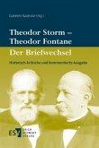 Theodor Storm - Theodor Fontane: Der Briefwechsel