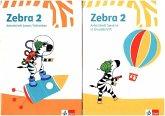 Zebra 2. Paket: Arbeitsheft in Grundschrift, Arbeitsheft Lesen/Schreiben Klasse 2