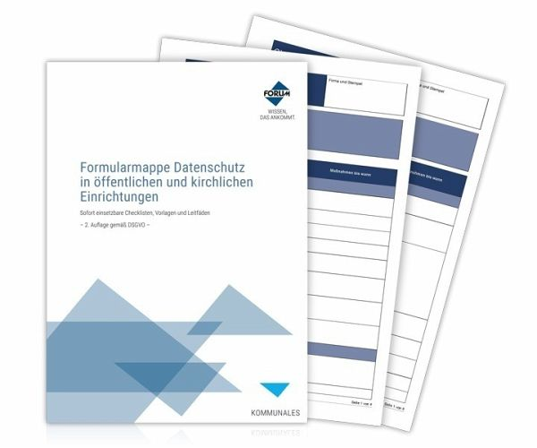 Formularmappe Datenschutz in öffentlichen und kirchlichen ...