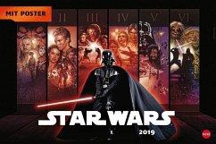 Star Wars Broschur XL - Kalender 2019