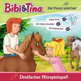 Bibi & Tina - Die Ponys sind los Folge 11 + 16 + 42 (MP3-Download)