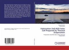 Fabrication ZnO:Al/Si Solar Cell Prepared by Thermal Evaporation - Khudhur, Musaab; Haneen, Khalid