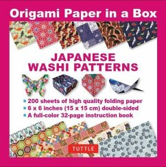 Origami Paper in a Box - Japanese Washi Pattern...