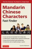 Mandarin Chinese Characters Fast Finder: Find the Character You Need in a Single Step!