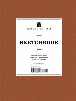 Large Sketchbook (Chestnut Brown)