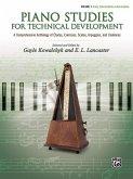 Piano Studies for Technical Development