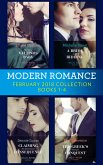 Modern Romance Collection: February 2018 Books 1 - 4: The Secret Valtinos Baby (Vows for Billionaires) / A Bride at His Bidding / The Greek's Ultimate Conquest / Claiming His Nine-Month Consequence (One Night With Consequences) (eBook, ePUB)