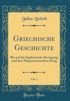 Griechische Geschichte, Vol. 1