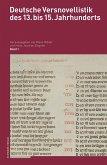 Deutsche Versnovellistik des 13. bis 15. Jahrhunderts, Einleitungsband