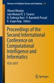 Proceedings of the Second International Conference on Computational Intelligence and Informatics