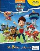 Paw Patrol, Buch mit 9 Spielfiguren und 1 Spielmatte