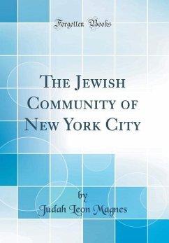 The Jewish Community of New York City (Classic ...