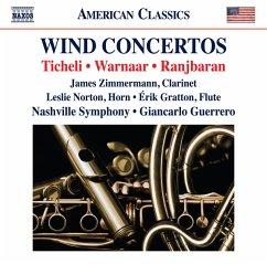 Klarinettenkonzert/Hornkonzert/Flötenkonzert - Zimmermann/Norton/Gratton/Guerrero/Nashville So