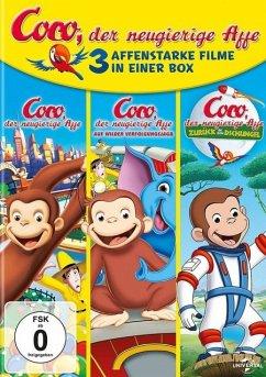 Coco, der neugierige Affe 1-3 DVD-Box