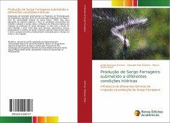 Produção de Sorgo Forrageiro submetido a diferentes condições hídricas