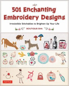 501 Enchanting Embroidery Designs: Irresistible...