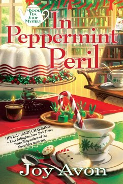 In Peppermint Peril: A Book Tea Shop Mystery