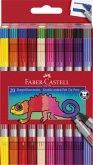 Faber-Castell Doppelfasermaler 20er Etui