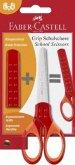 Faber-Castell Schulschere GRIP rot BK
