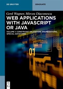 Web Applications with Javascript or Java