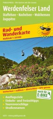 PUBLICPRESS Rad- und Wanderkarte Werdenfelser L...
