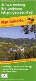 PUBLICPRESS Wanderkarte Schwarzenberg, Breitenbrunn, Johanngeorgenstadt