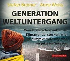 Generation Weltuntergang, 1 Audio-CD - Bonner, Stefan; Weiss, Anne